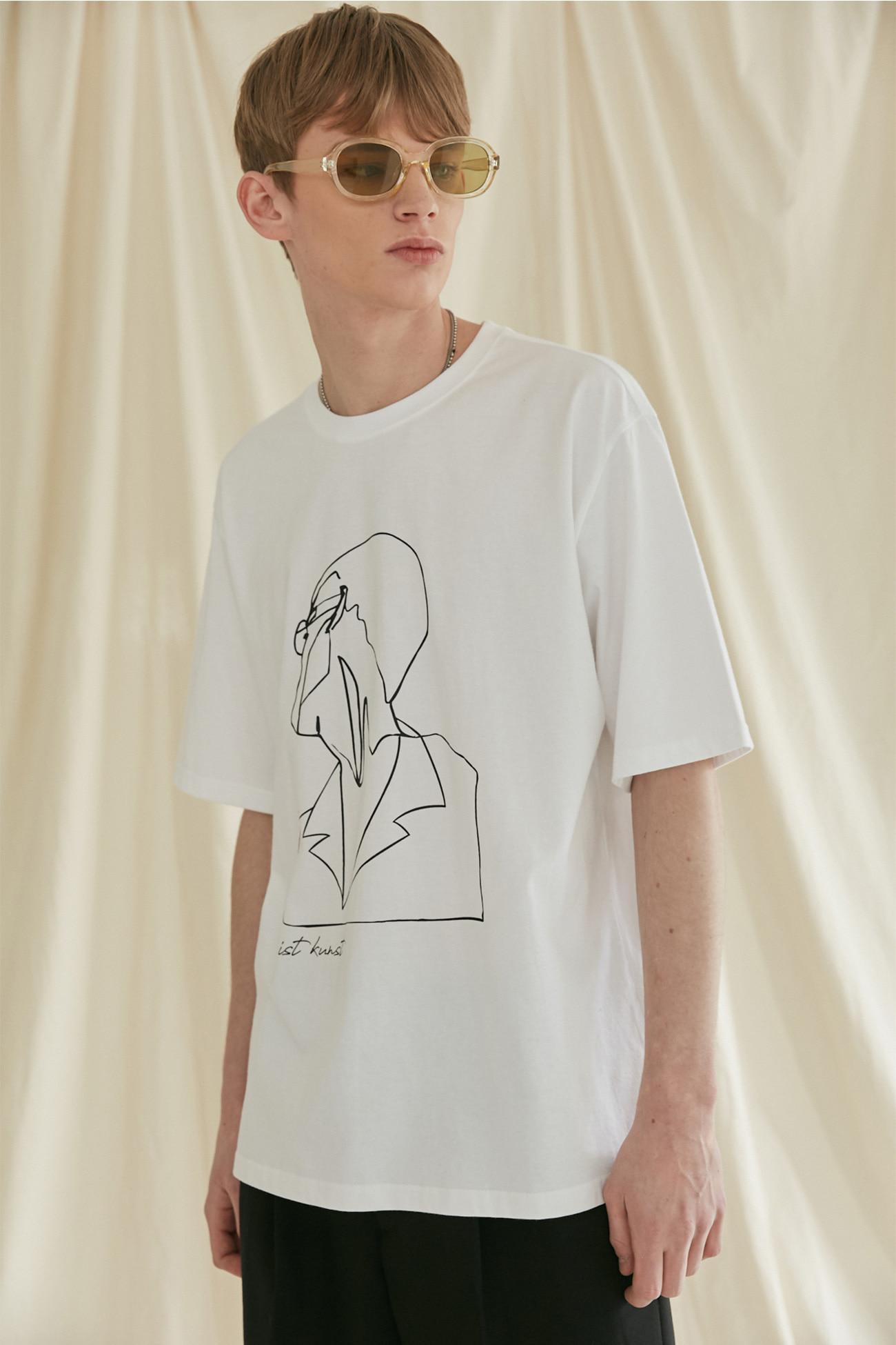 DRAWING TSHIRT[WHITE]