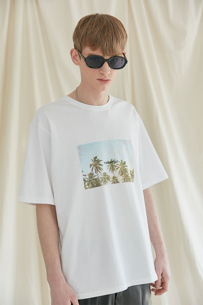 HOLIDAY TSHIRT[WHITE]